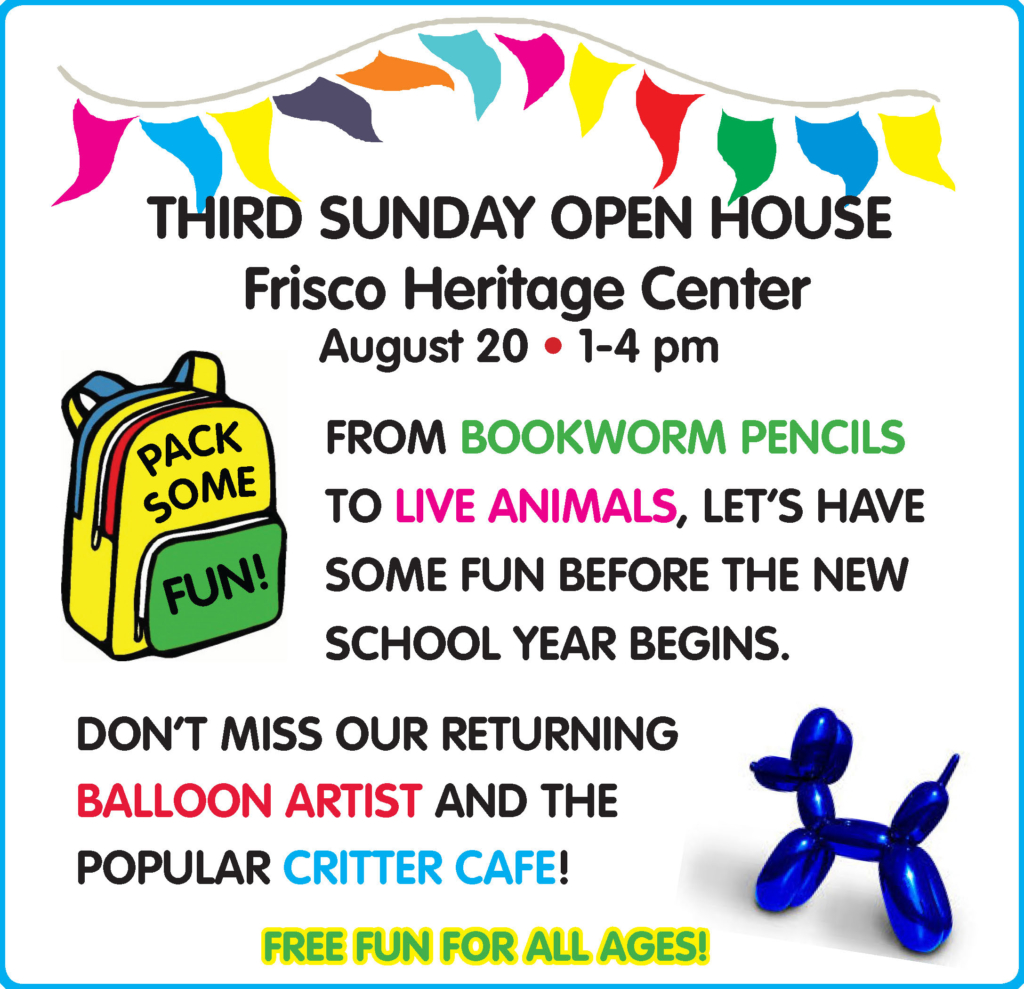 August 2017 Third Sunday Flyer