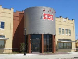 Frisco Heritage Museum Entrance