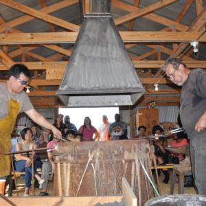 Blacksmiths using Gabys Forge