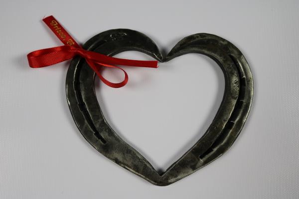 Handmade Horseshoe Heart
