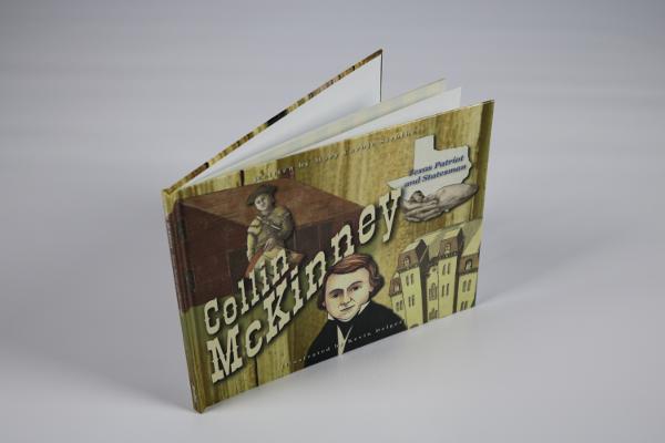 Collin McKinney Book Standing