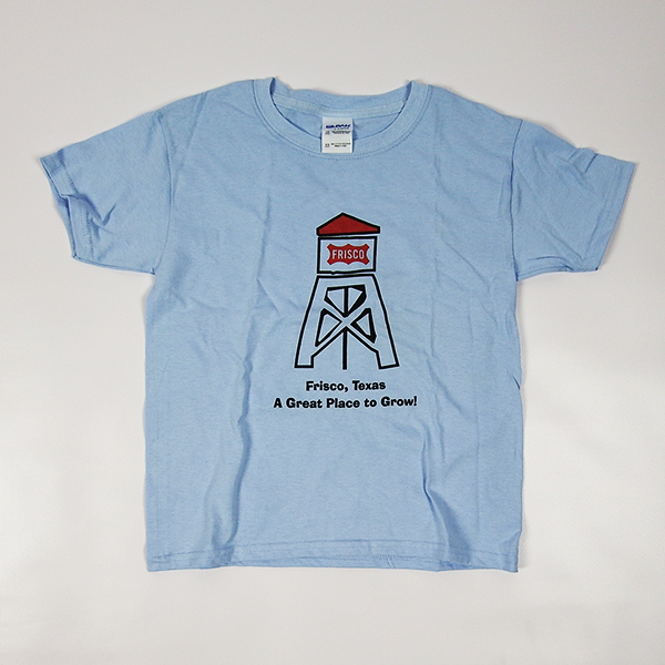 Childrens Frisco Water Tower T-Shirt Blue