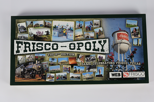 Frisco-Opoly Board Game
