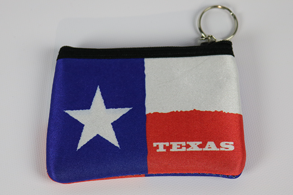 Texas Flag Coin Purse
