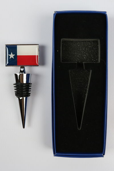 Texas Wine Bottle Stopper