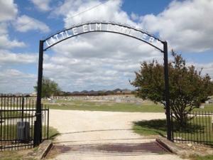Little Elm Cemetery Gate