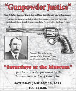 Gunpowder Justice Lecture Flyer