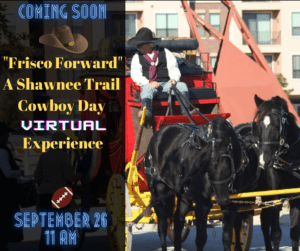 Shawnee Trail Cowboy Day Virtual Event 2020 Banner